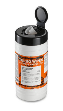 Turbo Wipes cleaning towelette