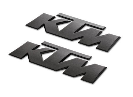 KTM 3D STICKER BLACK